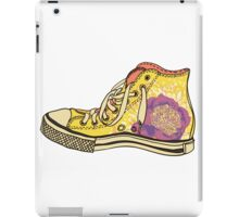 colored pattern gym shoes iPad Case/Skin