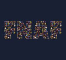 Five Nights at Freddys - Pixel art - FNAF typography One Piece - Short Sleeve