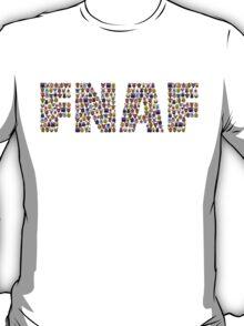 Five Nights at Freddy's - Pixel art - FNAF typography T-Shirt