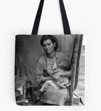 Dorothea Lange, Migrant mother (alternative), Nipomo, California, 1936 2 Tote Bag
