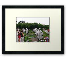Korean Memorial  Framed Print