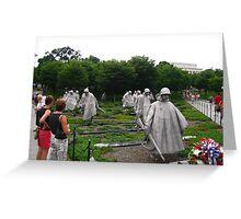 Korean Memorial  Greeting Card