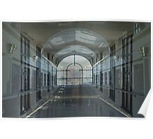 Windows in Corridors Walls Within Halls Poster