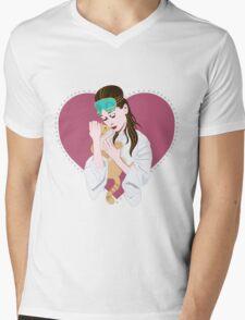 Audrey Hepburn Breakfast at Tiffany's Mens V-Neck T-Shirt