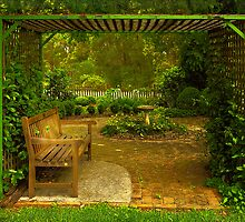 Cottage Arbour by Rosalie Dale