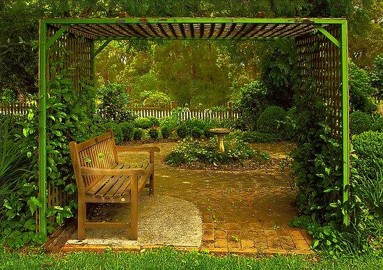 Cottage Arbour by Rosalie Dale