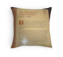 Signage Throw Pillow