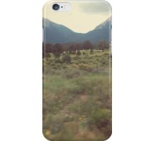 colorado rocky mountain home on the go iPhone Case/Skin