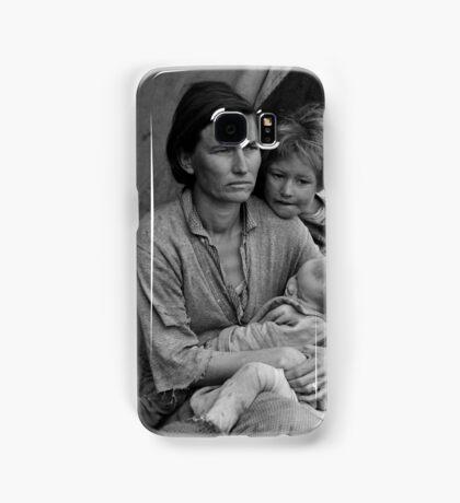 Dorothea Lange, Migrant mother (alternative), Nipomo, California, 1936 Samsung Galaxy Case/Skin