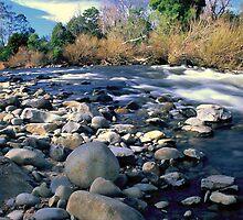North Esk River by David Henderson