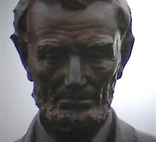 Abraham Lincoln (second version) by Marie Sharp