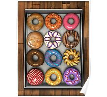 Box of Doughnuts Poster