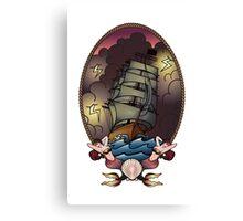 Mermaid Voyage Canvas Print