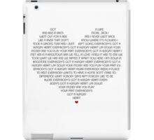 Hungry Heart iPad Case/Skin