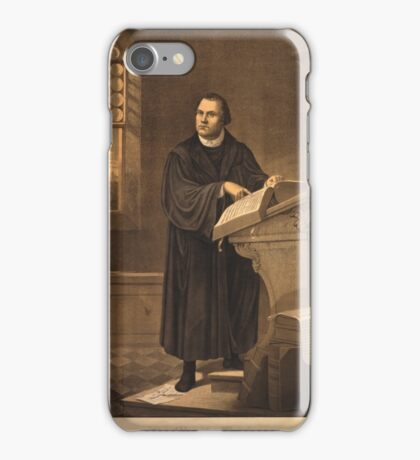 Dr. Martin Luther iPhone Case/Skin