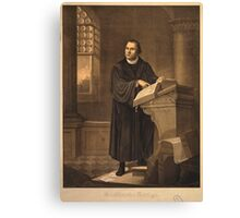 Dr. Martin Luther Canvas Print