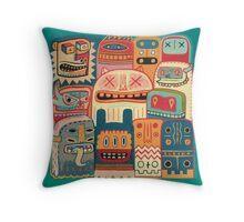 Instant drôlatique 8h37  Throw Pillow