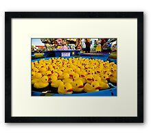 The Duck Pond Framed Print