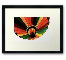 Birds Eye View Framed Print