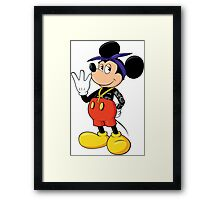 Mickey Pac Framed Print