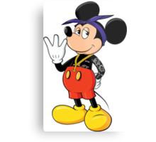 Mickey Pac Metal Print
