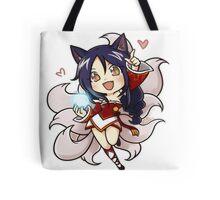 Cute Ahri chibi Tote Bag