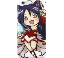 Cute Ahri chibi iPhone Case/Skin