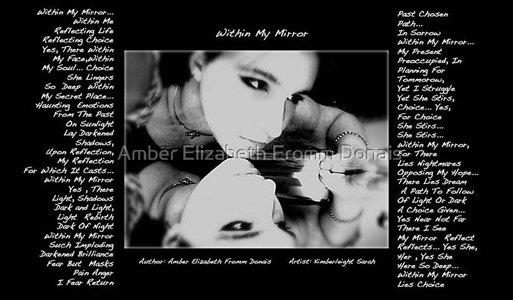 Within My Mirror by Amber Elizabeth Fromm Donais