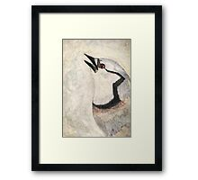 The Thankful Jay Framed Print