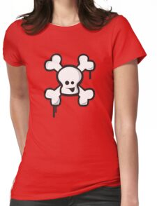 Happy Skull! Womens Fitted T-Shirt