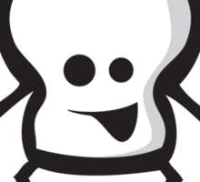 Happy Skull! Sticker