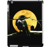 Black Crow Harvest Moon iPad Case/Skin