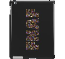 Five Nights at Freddys - Pixel art - FNAF typography iPad Case/Skin