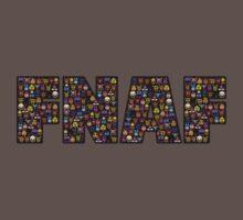 Five Nights at Freddys - Pixel art - FNAF typography (Black BG) Baby Tee