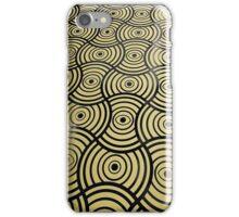 Eyes Golden Metallic Pattern iPhone Case/Skin