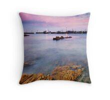 Kalk Bay Harbour Throw Pillow