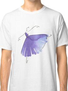 ballerina figure, watercolor Classic T-Shirt