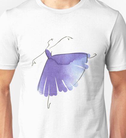 ballerina figure, watercolor Unisex T-Shirt