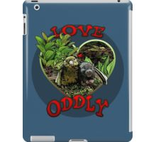 LOVE ODDLY iPad Case/Skin