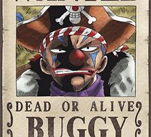 Wanted Buggy - One Piece by yass-92