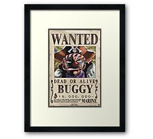 Wanted Buggy - One Piece Framed Print
