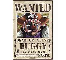 Wanted Buggy - One Piece Photographic Print