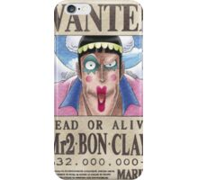 Wanted Mr2 - One Piece iPhone Case/Skin