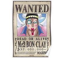 Wanted Mr2 - One Piece Poster