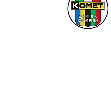Komet Vintage Kart Engine Logo by harrisonformula