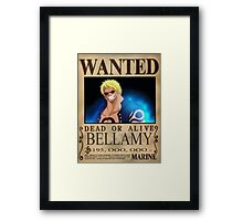 Wanted Bellamy - One Piece Framed Print