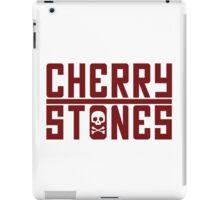Cherry Stones - Black iPad Case/Skin