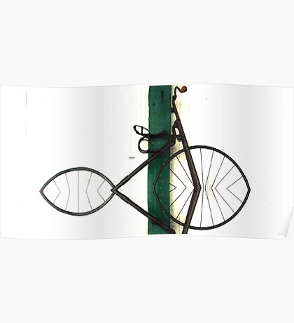 Abstract in Geometric Velocipede  Poster
