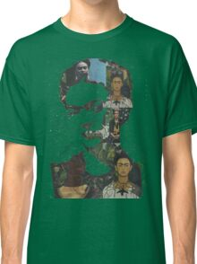 Frida Kahlo Paintings and Photographs Mix Classic T-Shirt