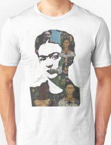 Frida Kahlo Paintings and Photographs Mix Unisex T-Shirt